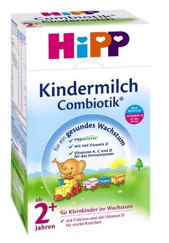 Hipp Kindermilch Combiotik 2+, ab dem 2. Jahr, 3er Pack (3 x 600g)