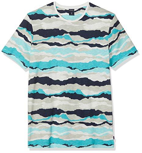 Springfield 2Pc AOP Camo Camiseta, Beige (Beige 96), X-Small (Tamaño del Fabricante: XS) para Hombre