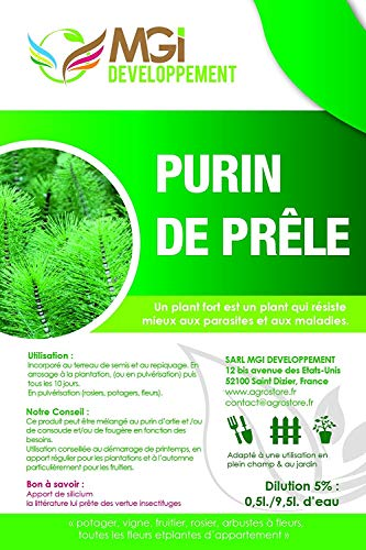 MGI DEVELOPPEMENT Purin de prêles Made in France - 5 L