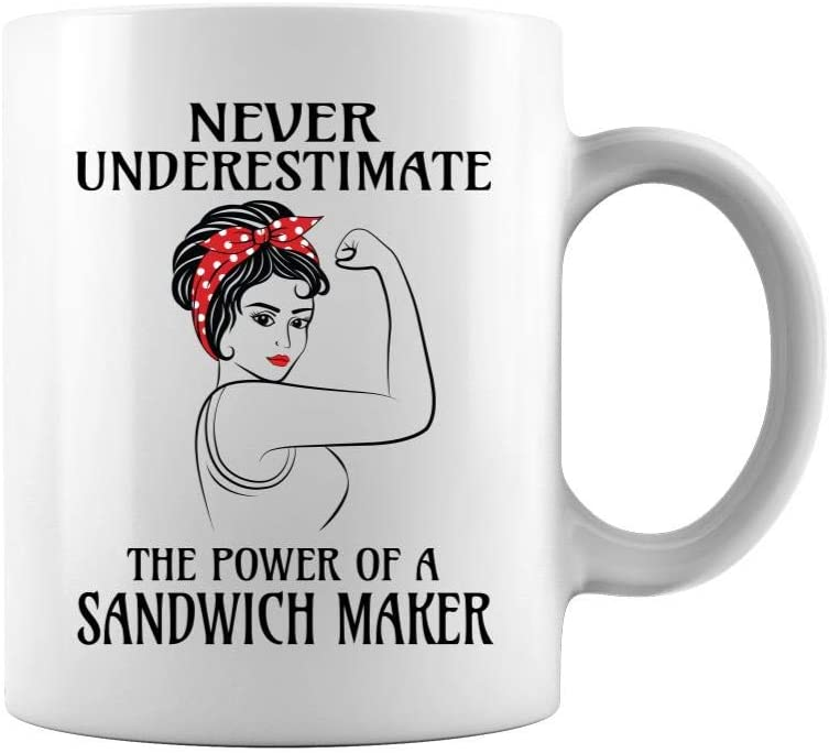 Max 76% OFF Never Underestimate The Fixed price for sale Power of a Pr Two Sides - Sandwich Maker