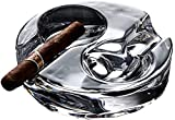 COLiJOL Porta Cigarrillos Colilla de Cigarrillos Cenicero Personalidad Tendencia Multifunción Hogar Sala de Estar Mesa de Centro Cenicero de Cristal