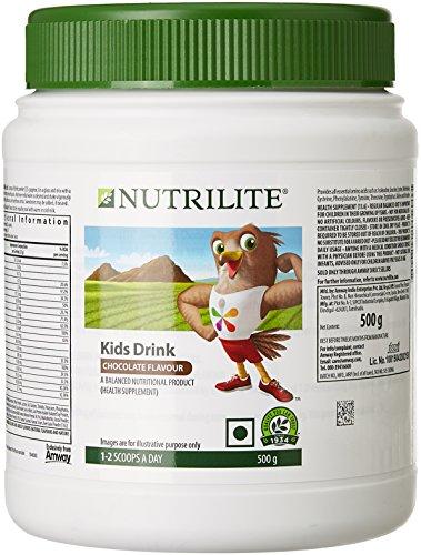 NUTRILITE Kids Drink - Chocolate Flavor With Essential Vitamins & Minerals (500 Gms)