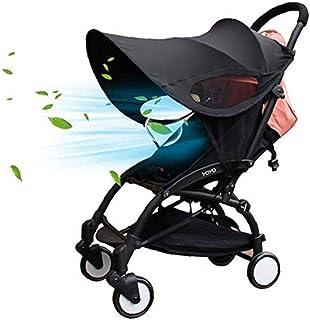 Komise Universal Baby Kids Pram Umbrella Sonnenschirm UV Sonnenschirm f/ür Kinderwagen und Kinderwagen