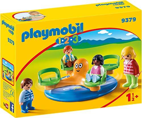 PLAYMOBIL  1.2.3 Carrusel Infantil Juguete