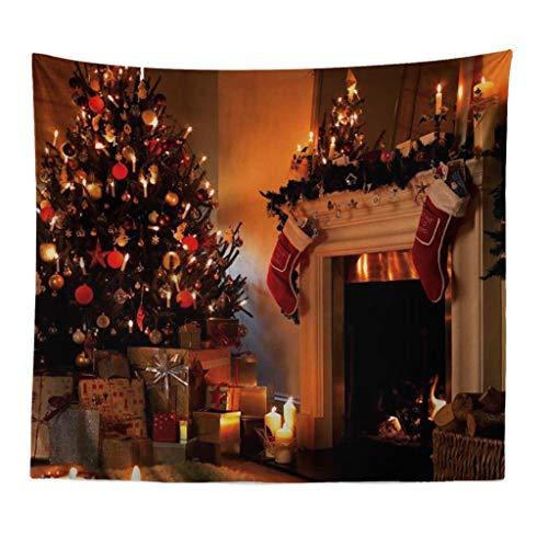 HINK Feliz Navidad Playa Cubrir túnica Tapiz Mantel decoración del hogar 150X100cm hogar y jardín Textiles...