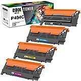 Cool Toner Compatible Cartuchos de tóner para CLT-K404S CLT-P404C P404C para Toner Samsung C480W C430W Samsung Xpress SL-C430W SL-C480W SL-C480FW SL-C480FN SL-C480 SL-C430, 4-Pack