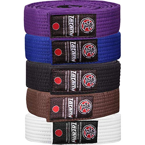 Tatami Fightwear Adult BJJ Rank Belt - A0 - Blue