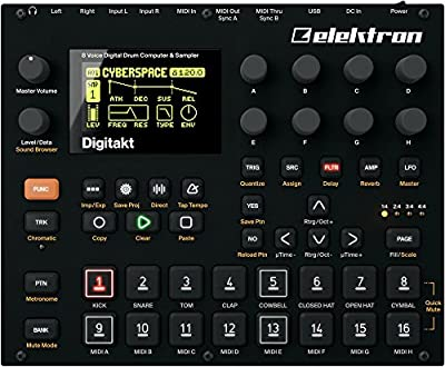 Elektron Digitakt 8-voice Drum Computer and Sampler by Elektron