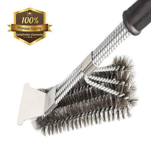 MOORAY Grill Brush BBQ Cleaning Scraper Safe...