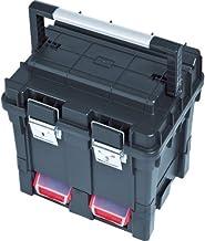 10 piezas de pl/ástico contenedores de almacenamiento cajas y sujeta de vertiente de garaje taller