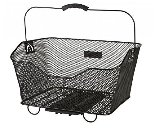 Korb Fahrrad System Gepäckträger Carrymore VIP-Fix i-Rack Schwarz