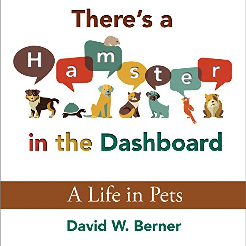 There's a Hamster in the Dashboard audiobook cover art