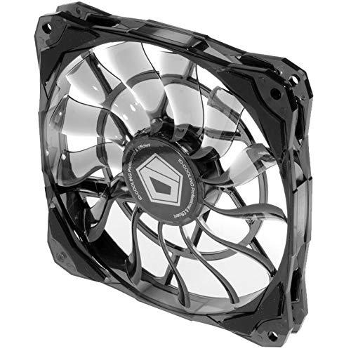 Cuasting Ventilador de refrigeración controlado PWM 12015 delgado de 15 mm de grosor 53,6 CFM 120 mm para PC PC