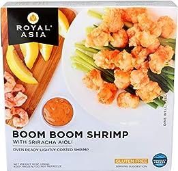 Royal Asia, Boom Boom Shrimp with Sriracha Aioli, 10 oz (Frozen)