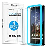 [4 Pack] OMOTON Google Pixel 3a Screen Protector, Tempered Glass/...