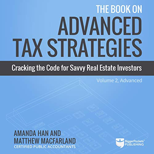 The Book on Advanced Tax Strategies audiobook cover art