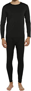 ViCherub Men's Thermal Underwear Set Fleece Lined Long Johns Winter Base Layer Top & Bottom 1 or 2 Sets for Men