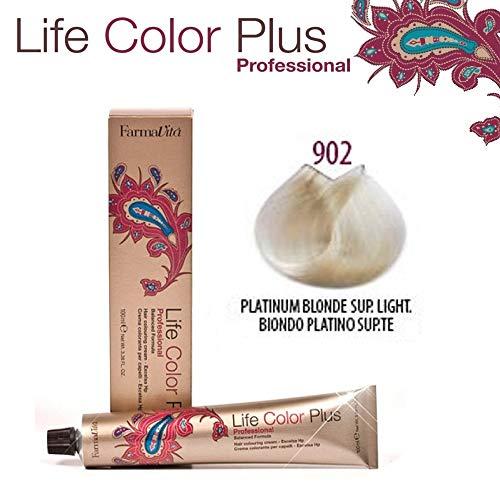 Farmavita Life Color Plus Haarfarbe 902 Platinum Blonde Sup. Light 100ml