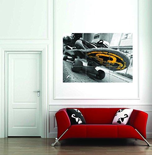 Doppelganger33 LTD Skateboard Skater Custom Art Work Giant Poster Print 89 X 125 Cms