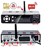 NEW Built in WiFi FULL HD 1080P Freeview HD Receiver + HD USB Recorder DIGITAL TV Set Top Box Tuner Digibox Terrestrial Analogue to Digital Television Converter (DVBT2) WiFi inside 4in1