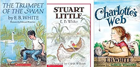 EB White Treasury: Charlotte's Web / Stuart Little / The Trumpet of the Swan