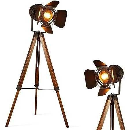 Barcelona LED - Lampe projecteur avec trépied