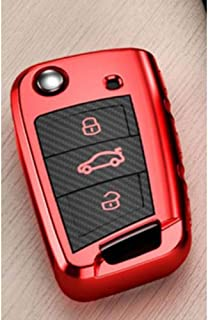 Clave alejado del coche de la cubierta del caso para VW Volkswagen Golf 7 7 Seat Ibiza FR 2 Leon Altea azteca para Skoda O...
