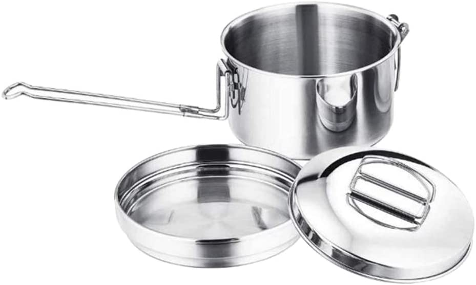 simhoa 2-Layers Tableware Stainless Steel Safety and trust Storage Cooking Mess K Wholesale