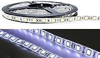 ジェイダブルシステム 一般仕様LEDテープライト(貼付用両面テープ有り) 5050SMD 60leds/m ジェル防水(IP65) 白色(6500-8000K)
