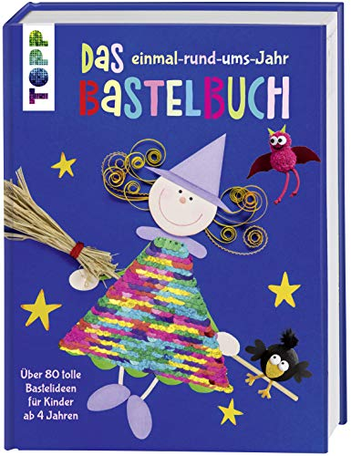 Frech Verlag GmbH Das einmal-rund-ums-Jahr Bastelbuch: Über 80 Bild