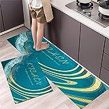 Alfombrillas de Cocina, alfombras Lavables Antideslizantes de...
