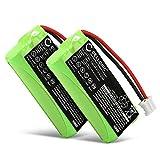 CELLONIC 2X Batería Premium Compatible con Siemens Gigaset A120 A14 A140 A145 A160 A165 A245 A240 A260 A265 (700mAh) V30145-K1310-X383,V30145-K1310-X359 bateria de Repuesto,Pila reemplazo,sustitución