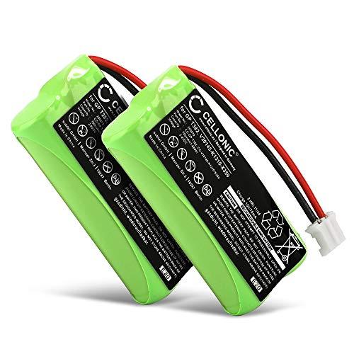 CELLONIC 2X Qualitäts Akku kompatibel mit Siemens Gigaset A120 A14 A140 A145 A160 A165 A245 A240 A260 A265 (700mAh) V30145-K1310-X383,V30145-K1310-X359 Ersatzakku Batterie