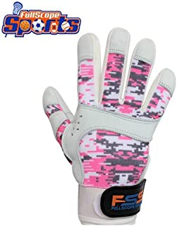 Pro Super Grip Softball Baseball Batting Gloves for Youth Boys Girls (Pink/Gray/White Digital Camo), Youth Small (Ages 6-8 yrs Old)