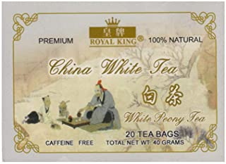 Chinese White Tea (Natural & Caffeine Free) 20 Tea Bags