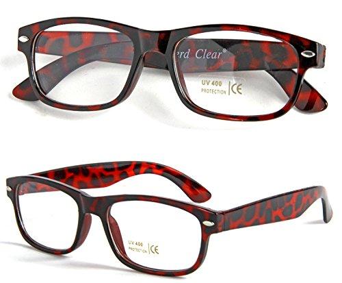 Nerd bril hoornbril leesbril zonder sterkte nerdbril Geek Wayfarer
