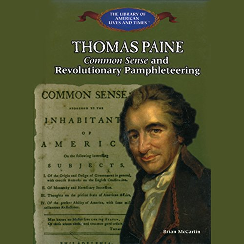 Thomas Paine audiobook cover art
