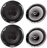 (2) Pairs Alpine Spe-6000 6.5' 2 Way Pair of Car Speakers Totalling 960 Watts Peak / 240 Watts RMS