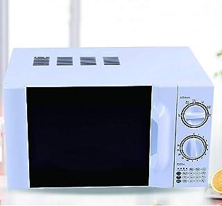 WONOOS Horno microondas, 700 W de Alta Potencia, 6 Niveles de Ajuste de Potencia, calefacción Tridimensional de 360 °, máquina de Tipo Plato Giratorio, Ajuste de Tiempo de Bricolaje