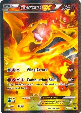 Pokemon - Charizard-EX (XY121) - XY Black Star Promos - Holo