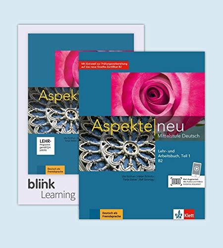 Aspekte neu B2 - Teil 1 - Media Bundle: Mittelstufe Deutsch. Lehr- und Arbeitsbuch mit Audios inklusive Lizenzcode für das Lehr- und Arbeitsbuch mit interaktiven Übungen Teil 1