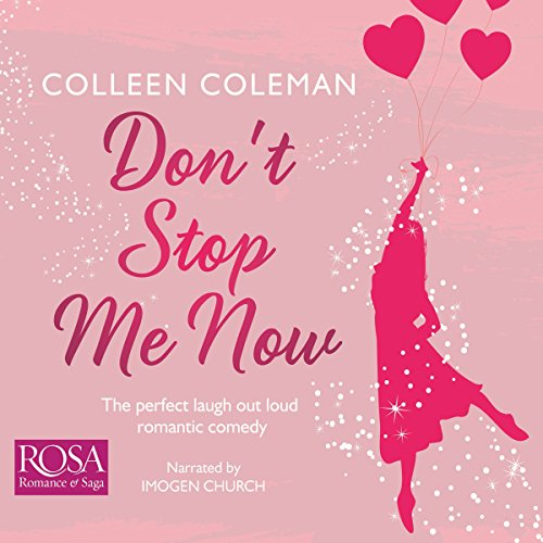Don't Stop Me Now audiobook cover art