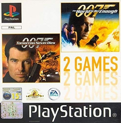007 - Tomorrow Never Dies + The World Is Not Enough PS1