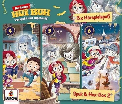 Der kleine Hui Buh - Spuk und Hex-Box, 3 Audio-CDs