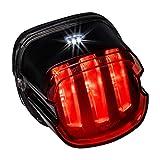 Harley LED Brake Tail Light [DOT Approved] [Claw-Design] [Plug-n-Play] - License Running Tail Brake Light for Harley Davidson Sportster Dyna Fatboy Softail Road King Glide Electra Heritage