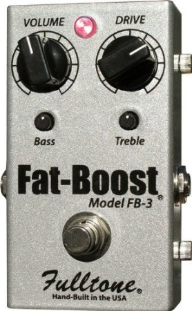 【 並行輸入品 】 Fulltone FB-3 Fat-Boost 3 Boost ペダル