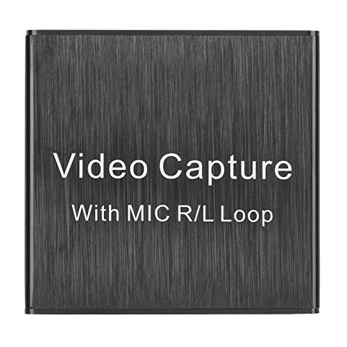 Asixxsix Video, hochauflösende kleine Grafikkarte, Videoausrüstung Videozubehör für Videosignale Audiosignale