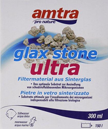 Croci amtra Glax Stone Ultra Material Bio filtermateriaal voor aquarium, 300 ml