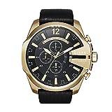 Diesel Reloj Cronógrafo para Hombre de Cuarzo con Correa en Acero Inoxidable & Piel DZ4344