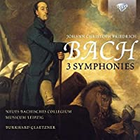 J.C.F. Bach: 3 Symphonies by Neues Bachisches Collegium (2015-04-04)